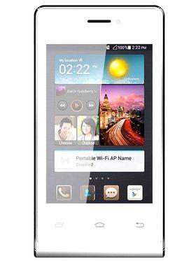 Intex Aqua V4 Smart Mobile Phone - White