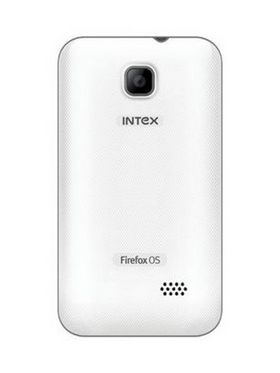 Intex Cloud Fx Os Firefox 1.3 Smart Mobile Phone - White
