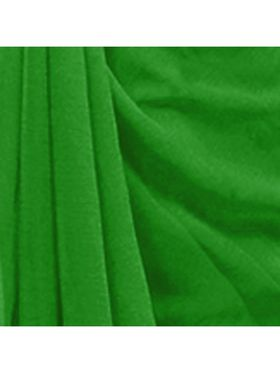 Khushali Fashion Georgette Plain Saree(Light Green)_JAZZ542