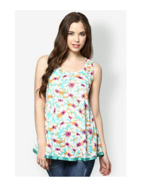Kaxiaa Cotton Jersey Printed Tunic -K-931B