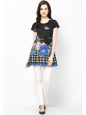 Kaxiaa Cotton Jersey Printed Tunic -K-957E