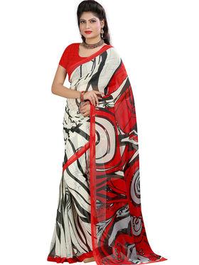 Arisha Georgette Printed Saree -Khgsstar201