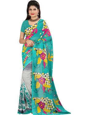 Arisha Georgette Printed Saree -Khgsstar206