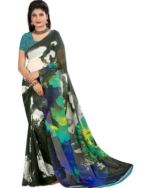 Arisha Georgette Printed Saree -Khgsstar214