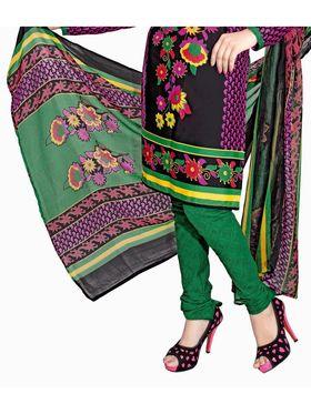 Khushali Fashion Crepe Printed Dress Material -Kpplk10001
