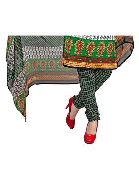 Khushali Fashion Crepe Printed Dress Material -Kpplk10002