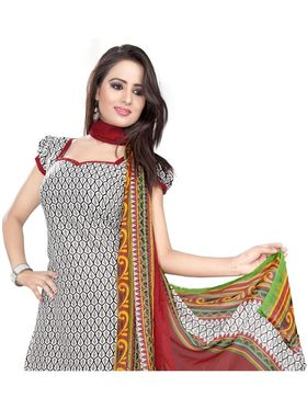 Khushali Fashion Crepe Printed Dress Material -Kpplk10010