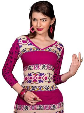 Khushali Fashion Crepe Printed Dress Material -Kpplpl8010