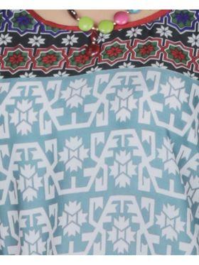 Arisha Crepe Printed Kurti KRT6090-Multi