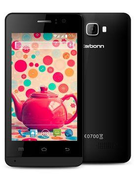 Karbonn Titanium S15 Ultra Android Kitkat Quad core Processor 3G Smartphone - Black