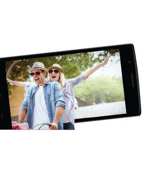 Karbonn Titanium S203, 5-inch Android Kitkat with 3000 mAh Battery - Black&Blue