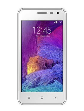Adcom Kitkat A-47 Quad Core processor with Free Screen Guard - White