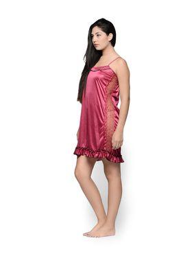 Set of 2 Klamotten Satin Solid Nightwear - X03-44