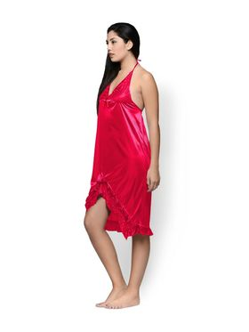 Set of 2 Klamotten Satin Solid Nightwear - X29-155