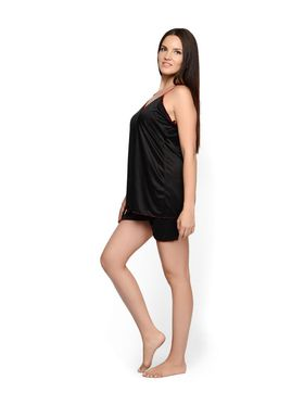 Set of 2 Klamotten Satin Solid Nightwear - X31-100