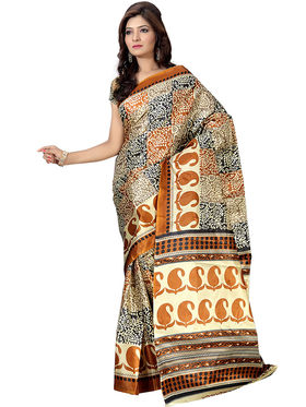 Pack of 3 Florence Printed Art Silk Saree  -fs17