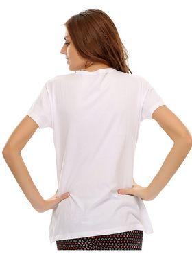 Clovia Cotton Printed T-Shirt -LT0020P18