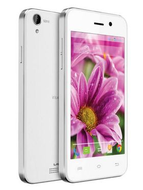 Lava Iris X1 Atom update to Android Lollipop, Quad Core 3G Smartphone With 8GB ROM - White & Silver