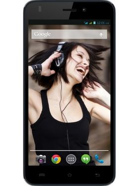 Lava Iris X1 Beats 5-Inch Android Kitkat,Quad Core processor with 1 GB RAM snd 8 GB ROM - Ink Black