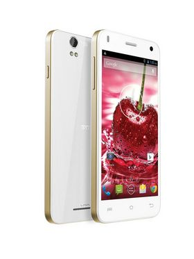 Lava Iris X1 Grand Android Kitkat with 1 GB RAM and 8 GB ROM - White & Gold