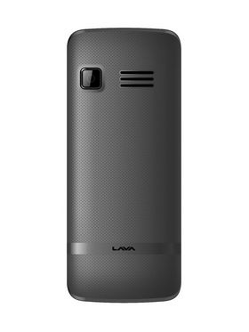 Lava KKT 14S 1.8 inch QVGA Screen, Long lasting 1750mAh battery, Loud Sound and Super Big and Bright LED Torch - Black & Grey
