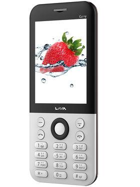 Lava Spark Curvy Dual Sim Phone - White