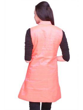 Lavennder Cotton Quilt Reversible Jacket - Purple and Neon Pink
