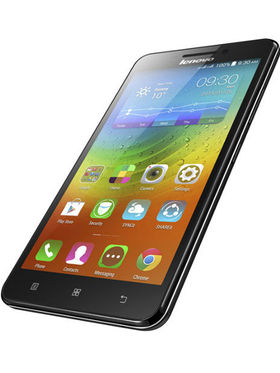 Lenovo A5000 5 Inch HD Display, Quad Core, Android Kitkat, 1GB RAM, 8GB ROM, 4000mAh Battery, 3G, Dual Sim Mobile- Black