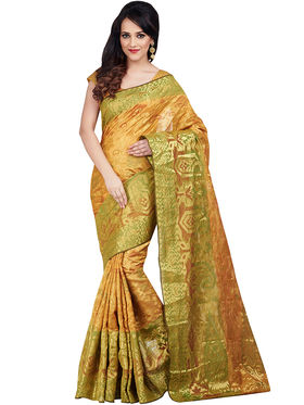 Shonaya Woven Poly Cotton Sarees -Mtnsh-5032