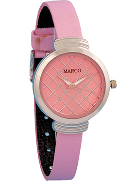 Marco Wrist Watch for Women - Pink_MR-LR102-PNK-PNK