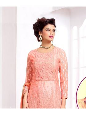 Viva N Diva Pure Georgette Embroidered Unstitched Suit Mehreem-7771
