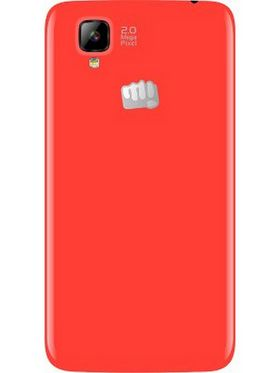 Micromax Bolt A066 With Android Kitkat, Dual core Processor and 512 MB RAM - Red
