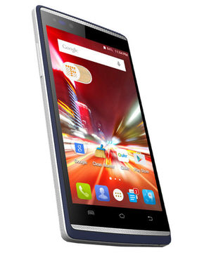 Micromax Canvas fire 4G Q411 Android Lollipop, Quad Core Processor with 1GB RAM & 8 GB ROM - Grey