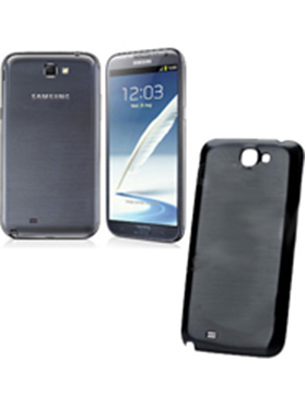Mono Back Cover For Samsung Galaxy Note 2 N7100   Black available at Naaptol for Rs.158