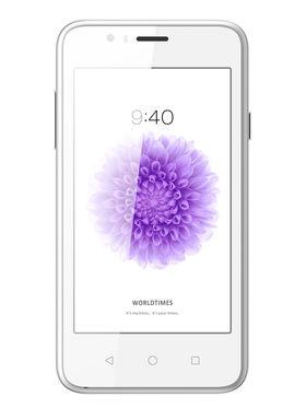 Hitech Amaze S2 4 Inch Quad Core 3G Android Kitkat Smartphone - White
