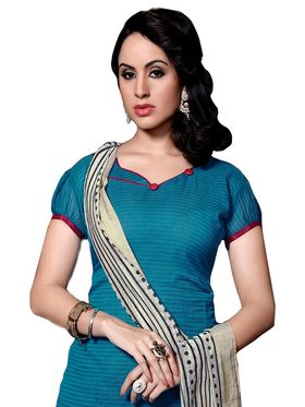 Khushali Fashion Chanderi Self Dress Material -Ncekl1009
