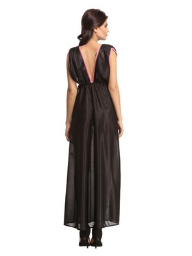 Clovia Satin Solid Nightwear -NS0576P13