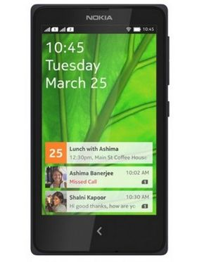Nokia X Plus 4-Inch Dual Core Dual Sim Phone - Black