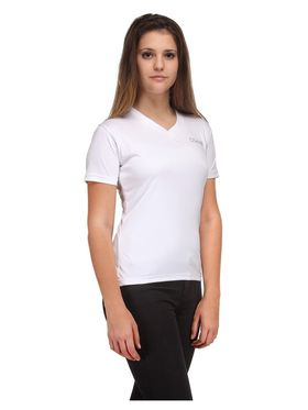 Oleva Combo Of  2 Blue Denim And White T-Shirt  ONC-11