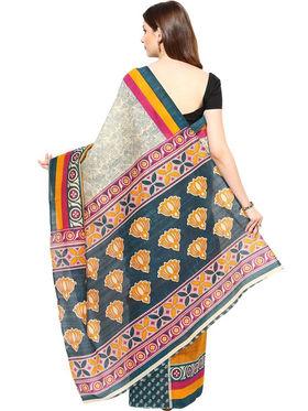 Branded Cotton Bhagalpuri Sarees -Pcsrsd27