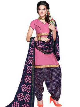 Khushali Fashion Crepe Self Dress Material -Rpsn99015