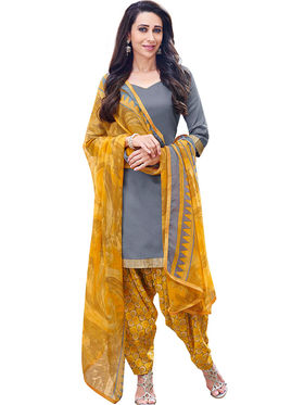 Khushali Fashion Cotton Self Unstitched Dress Material -RPSP1010010