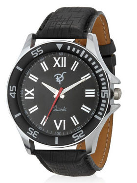 Rico Sordi Analog Wrist Watch - Black_12398205