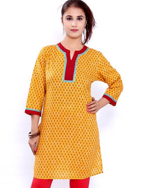 Combo of 6 Bazar Villa Cotton Printed Kurtis - BCE2079_42