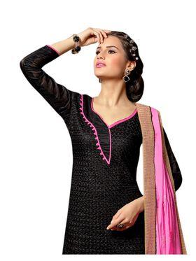 Khushali Fashion Chanderi Embroidered Dress Material -Sgldrmg21008