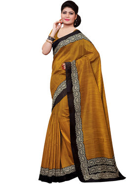 Shonaya Printed Handloom Cotton Silk Saree -Snkvs-3005-A