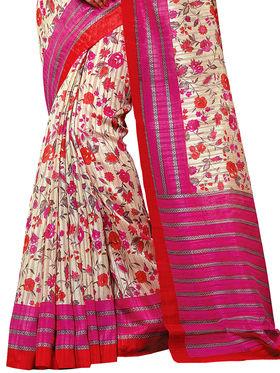 Shonaya Printed Handloom Cotton Silk Saree -Snkvs-3011-B