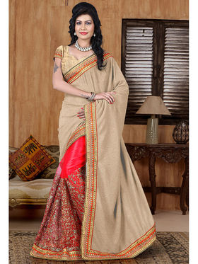 Viva N Diva Lycra and Net Sequence Saree Sangini-187