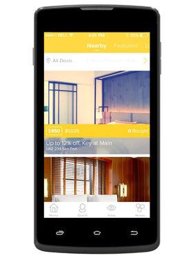 Spice Flo M-6130 5-Inch Dual Sim Phone - Black