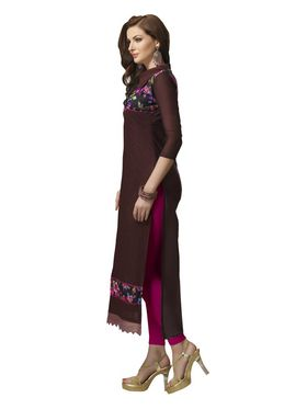 Viva N Diva Semi Stitched Chanderi Bhagalpuri Karachi Embroidered Suits Suhaani-1004
